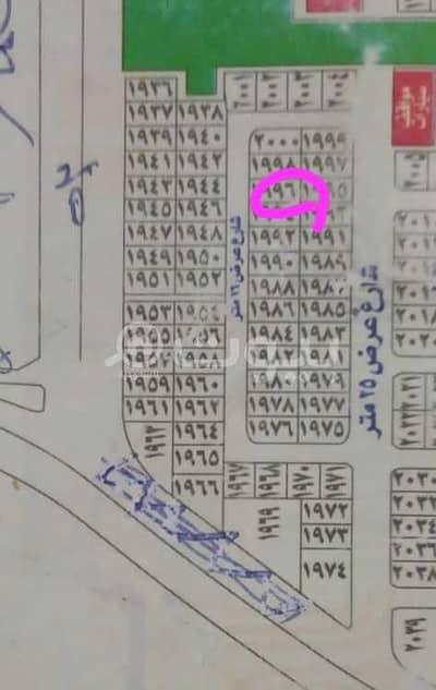 ارض سكنية  للبيع في جدة، المنطقة الغربية - أرض 625م2 للبيع في مخطط الرياض، شمال جدة