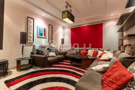 4 Bedroom Apartment for Rent in Riyadh, Riyadh Region - Furnished Family Apartment for rent in Al Hamra, East of Riyadh