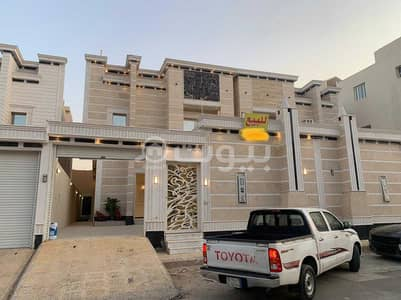 Villa for Sale in Riyadh, Riyadh Region - Distinctive villa stair stairway in hall and rooftop for sale in Tuwaiq, West Riyadh