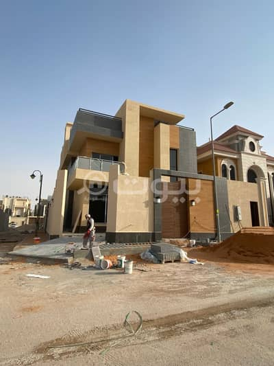 5 Bedroom Villa for Sale in Riyadh, Riyadh Region - For Sale Internal Staircase Villa In Tilal Hittin, North Riyadh