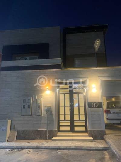 10 Bedroom Villa for Sale in Riyadh, Riyadh Region - Internal Staircase Villa And Two Apartments For Sale In Al Arid, North Riyadh