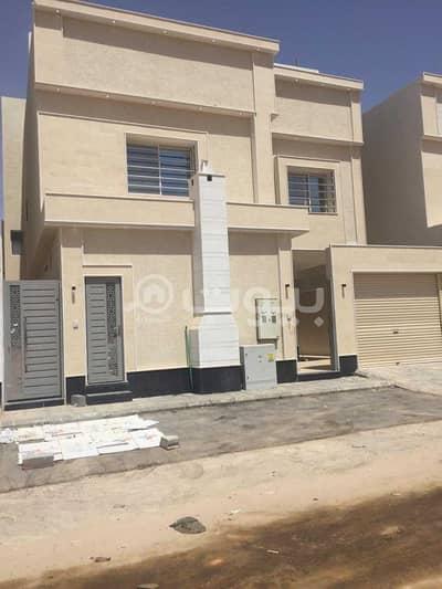 Villa for Sale in Riyadh, Riyadh Region - For sale villa with internal stairs and an apartment in Al-Rimal neighborhood, east of Riyadh