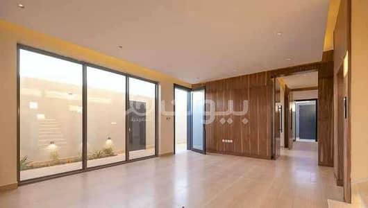 5 Bedroom Villa for Sale in Riyadh, Riyadh Region - New villa with a balcony for sale in Al Mursalat District, North of Riyadh