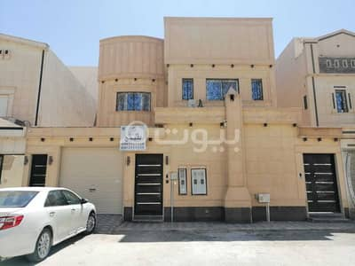 4 Bedroom Villa for Sale in Riyadh, Riyadh Region - Villa with internal stairs for sale in Al Rimal, East of Riyadh