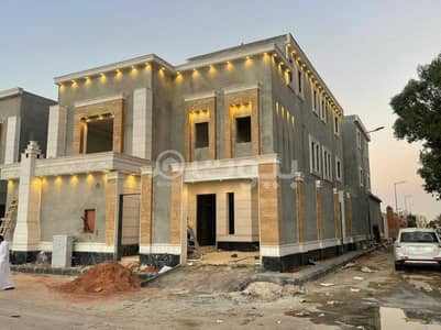 فیلا 5 غرف نوم للبيع في الرياض، منطقة الرياض - فيلا درج داخلي وشقة للبيع في حي المعيزلة شرق الرياض