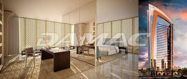 شقة فندقية من غرفة نوم واحدة مطلة على برج المملكة في الرياض