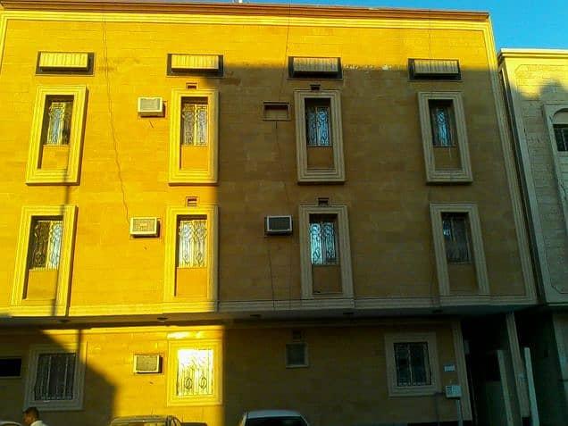 عمارة للبيع بها 14 شقة دخل العمارة سنويا 270 الف ريال
