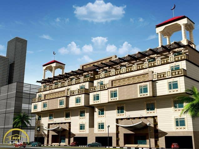 شقة دور مرتد 1 خلفية تحت الإنشاء للبيع في حي الرصيفة / مكة المكرمة