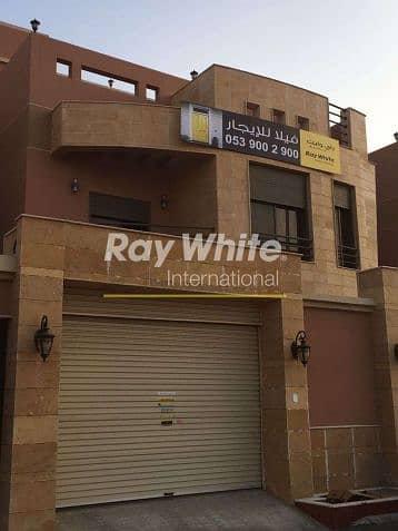 فیلا 6 غرف نوم للايجار في جدة، المنطقة الغربية - A Marvelous Classic Villa for Rent in Al Basateen Suburb