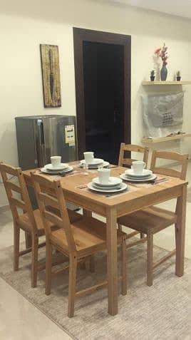 3 غرف وصالة بجميع الخدمات الراقية للايجارالشهري بقيمة 17500
