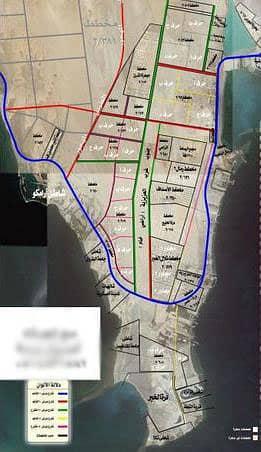 ارض سكنية  للبيع في الخبر، المنطقة الشرقية - ارض للبيع مخطط 605/2 العزيزية الخبر