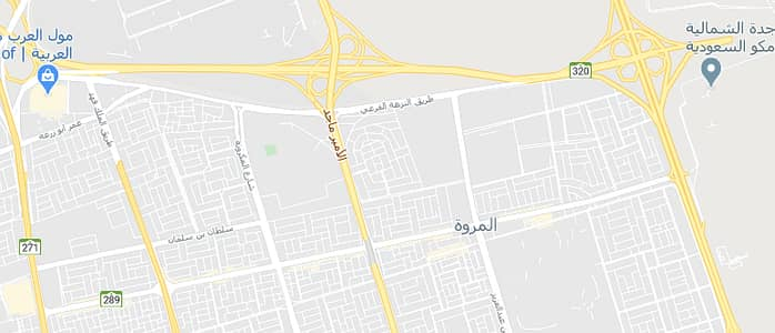 Residential Land for Sale in Jeddah, Western Region - Land for sale in Al Marwah district 850 SQM on two streets