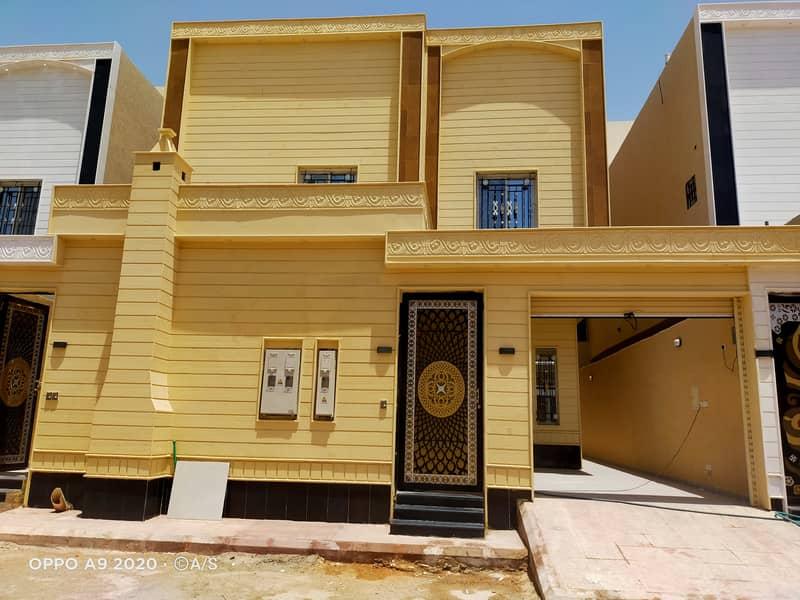 فيلا للبيع مساحة 360 متر بحي القادسية شرق الرياض