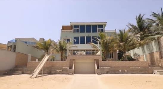 شاليه 7 غرف نوم للبيع في جدة، المنطقة الغربية - قصر مصغر (شاليه) خاص على البحر للبيع بدرة العروس جدة