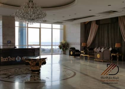 3 Bedroom Flat for Rent in Jeddah, Western Region - Full Sea View Apartments For Rent In Al Cornish - Al Shati District