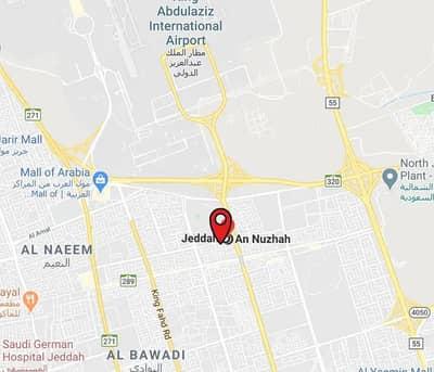 ارض تجارية  للبيع في جدة، المنطقة الغربية - أرض تجارية للبيع على 4 شوارع في النزهة، جدة