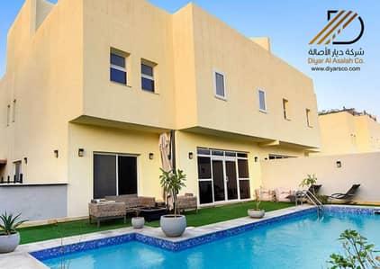 فیلا 3 غرف نوم للايجار في الرياض، منطقة الرياض - فيلا 3 غرف نوم للإيجار داخل كوماوند بحي الحمام الشرقي، طريق الملك خالد