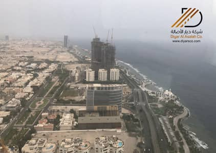 Office for Rent in Jeddah, Western Region - Office with sea views for rent in Al Shati, Jeddah