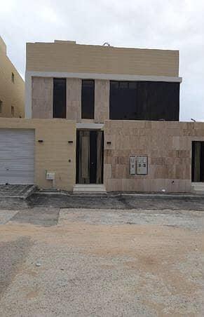 4 Bedroom Villa for Sale in Riyadh, Riyadh Region - Villa stairway in hall with 2 Apartment for sale in Al Qirawan, Riyadh