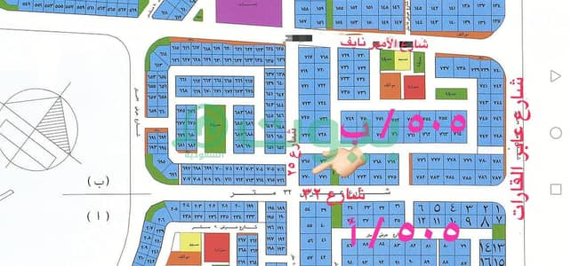 Commercial Land for Sale in Jeddah, Western Region - Commercial land for sale 900 sqm in Obhur Al Shamaliyah, North of Jeddah