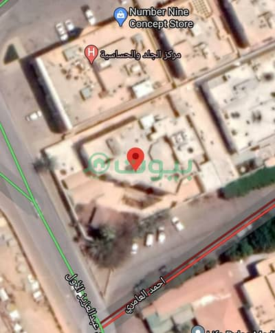 Commercial Land for Sale in Riyadh, Riyadh Region - Commercial Land | 1200 SQM for sale in Al Mohammadiyah, North Riyadh