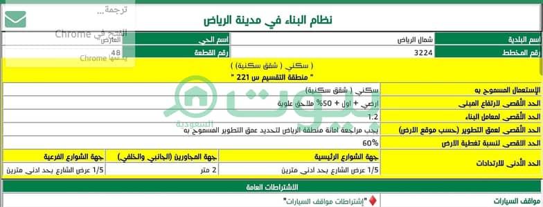 ارض تجارية  للبيع في الرياض، منطقة الرياض - أرض تجارية للبيع بالعارض، شمال الرياض