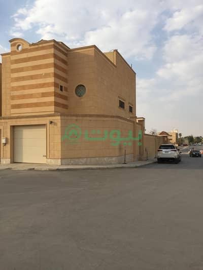 فیلا 4 غرف نوم للايجار في الرياض، منطقة الرياض - فيلا شبه جديدة للإيجار في السليمانية، شمال الرياض